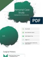 memorial case study
