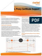 Technical Brief- Riverbed SSL Proxy Certificate Support