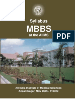 Aiims Syllabus - MBBS