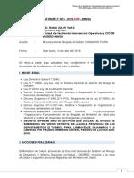 Modelo Informe Movilizacion de Brigada