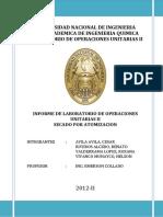 Secado Informe Final 2012-I