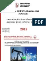 emisiones de GEI en refinerías