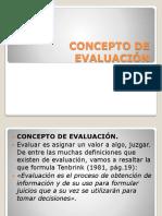 Concepto de Evaluación1.2