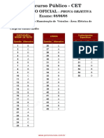 Prova 24 - Técnico(a) de Projetos Construção e Montagem Júnior - Instrumentação