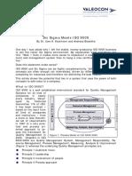 Six Sigma Meets ISO 9000
