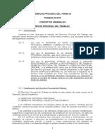 Derecho Laboral, Procesal