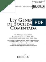 Ley general dw sociedades