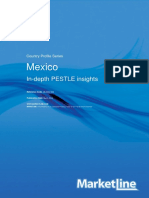 Mexico - Pestle Analysis 2018
