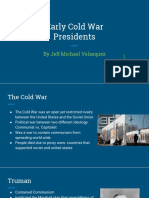 early cold war presidents