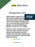 Akuntansi Unit Giro
