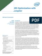 Advanced QRD Optimization with Intel® HLS Compiler