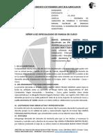 Demanda de Variacion de Tenencia, Tenencia Provisional y Exoneracion de Pension Alimenticia (Membretado)
