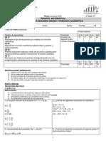 DC1 Ecuación Cuadrática 3Medios 1SEM 2018