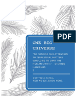 One Big Universe