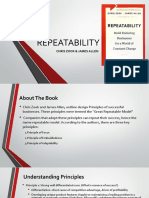 Book Review Repeatability