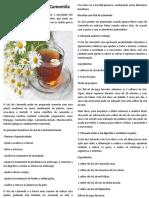 Beneficios Chá de Camomila