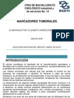 MARCADORES TUMORALES ELIZABETH ARREDONDO SANDOVAL [Autoguardado].pptx