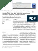 Correlation Hlag Polymorphism Ile6 Schizophrenia