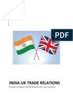 Project on International Business - India UK Trade