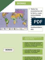 Biomas y Ecosistemas de Ecuador