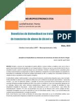 Beneficios Do Biofeedback No Tratamento de Dependencia Quimica