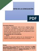 Antecedentes de La Conciliación