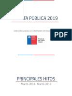 Cuenta Publica DGC 2019