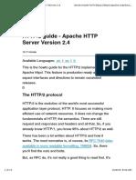 Apache HTTP2