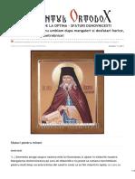 Cuvantul-Ortodox.ro-sfantul Macarie de La Optina Sfaturi Duhovnicesti Pentru Mireni Sa Nu Umblam Dupa Mangaieri Si Desfa