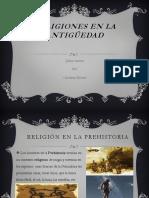 Religiones en La Antigüedad
