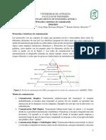 Protocolos e Interfaces de Comunicación