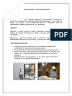 Subprograma de Higiene Industrial