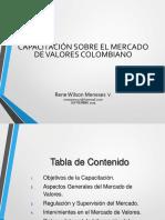 CAPACITACION MERCADO DE VALORES 2015. BANAGRARIO agosto 31 2015.ppt