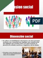 Dimencion Social