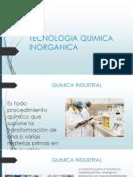TECNOLOGIA QUIMICA INORGANICA