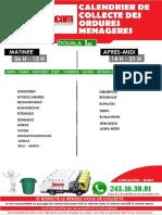 programme Collecte Ordures Menageres Douala 1er - 2019