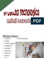Proyecto tecnolgico