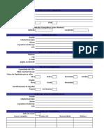 Ficha de Cadastro Da Algodoeira - Excel