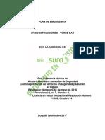 PLAN DE EMERGENCIA  - Torre EAR.PDF