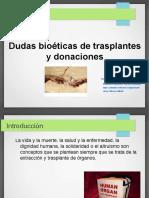 bioetica trasplantes