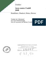 Dolf Oehler - Le Spleen contre l'oubli, juin 1848 _ Baudelaire, Flaubert, Heine, Herzen.pdf