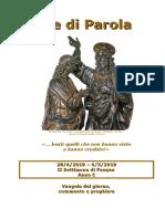 Sete di Parola - II settimana Pasqua  - C.doc