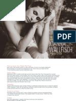 Joanna Wallfisch With Dan Tepfer - The Origin of Adjustable Things - Digital Booklet