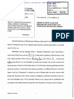 Rockmore Capital-Bruce Bernstein TRO in XpresSpa fraud suit April 29 2019