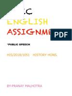 Aecc Assignment