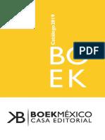 Catalogo Boek Marzo 2019
