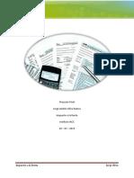 Impuesto a la Renta - Proyecto Final