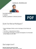 Biografía Manuel Rodriguez