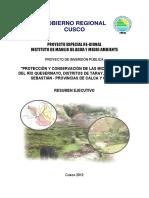 157352 Protec Conserv Rio Quesermayo Taray Cusco San Sebastian