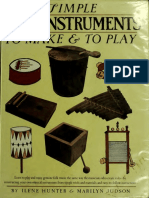 Simple folk instruments to make and to play